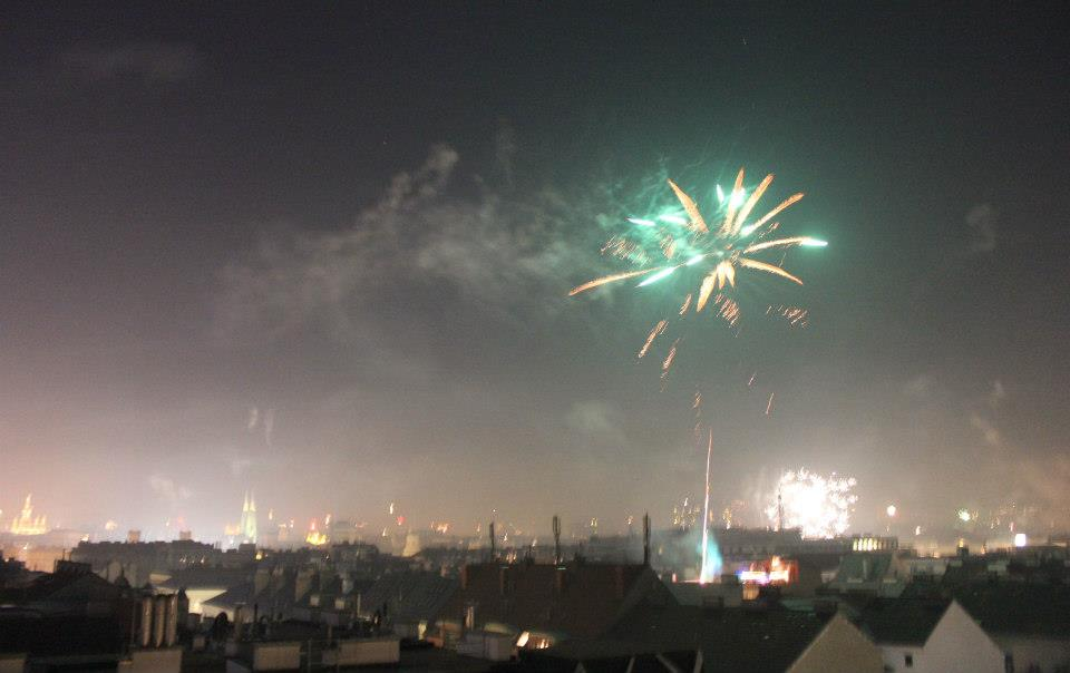 New Years Party by Lena - Vienna Rooftops - photo by Corinna Herden